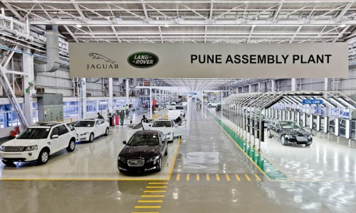 Jaguar Land Rover India Puune assembly plant factory