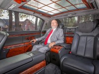 Josef Weikinger and Maybach 62
