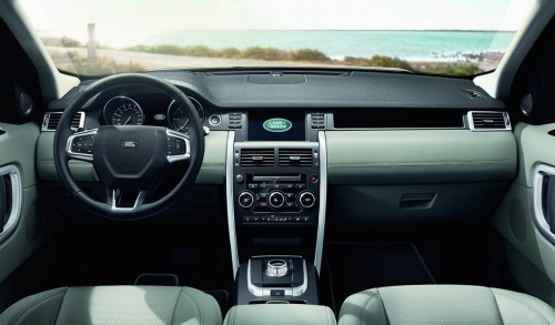 New Land Rover Discovery Sport Interior