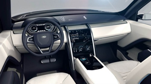 Land Rover Discovery Vision Concept Dashboard