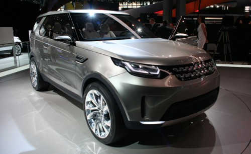 Land Rovers Discovery Vision Concept