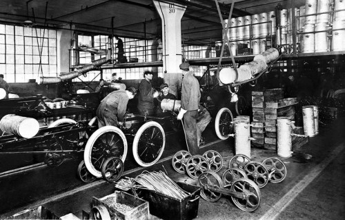 Integrated Assembly Line 1913