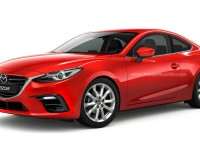 Mazda3 Coupe Rendered