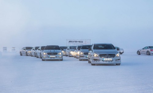 Mercedes-AMG Winter Academy: Driving AMGs in Sweden in the Dead of Winter