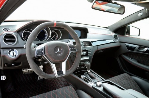 Mercedes-Benz C63 AMG Black Series by GAD Dashboard