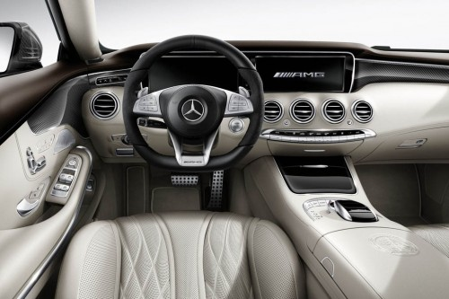 Mercedes S63 AMG Coupe AMG Performance Studio Interior