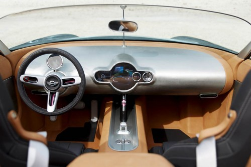 Mini Superleggera Vision Concept interior