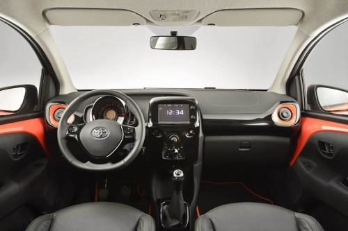 New Toyota Aygo Interior