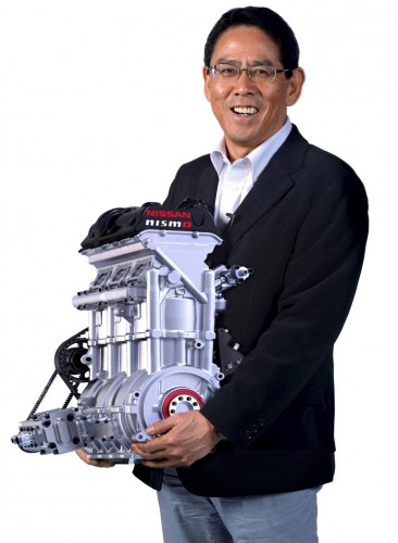 Nissan ZEOD-RC engine