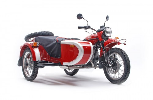 Patrol – Red/White, MSRP $15,599* (Also comes in Black/Silver combination)