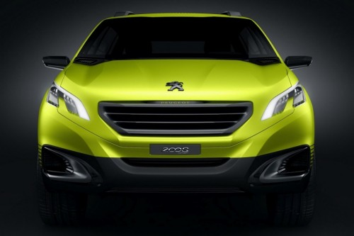 Peugeot 2008 Concept crossover