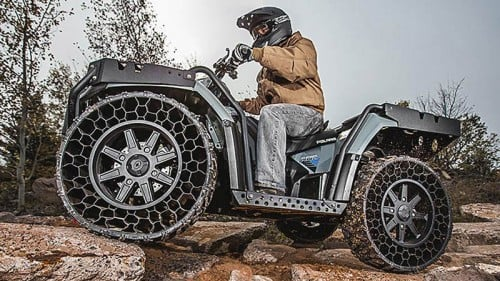 Polaris Sportsman WV850 H.O. with airless tires