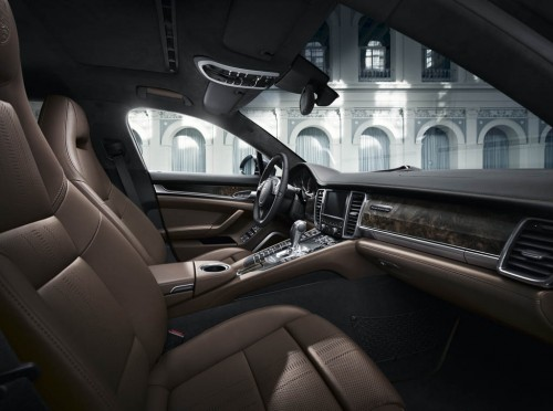 Ultra Luxurious Porsche Panamera Exclusive Series Interior
