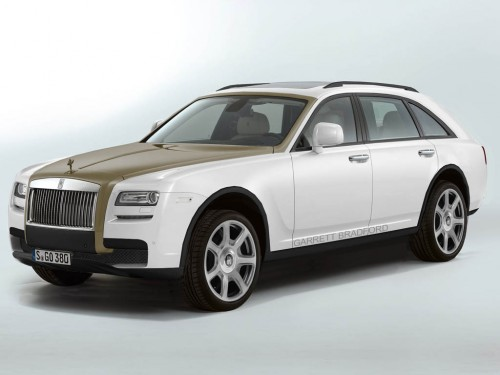 Rolls-Royce SUV Rendered