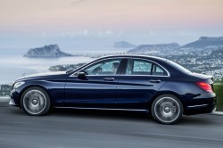 Mercedes-Benz C 300 BlueTEC HYBRID, Exclusive Line, Cavansitblau metallic, Leder ARTICO