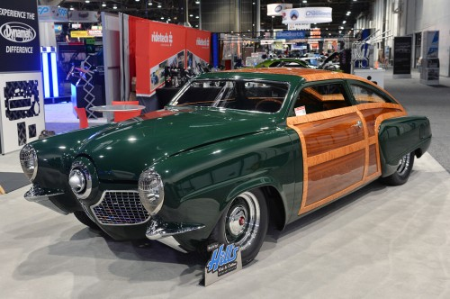 1951 Studebaker Fastback Woody by Hill's Rod & Custom