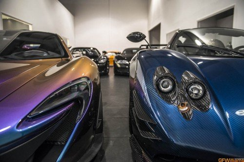Supercars In This One Room