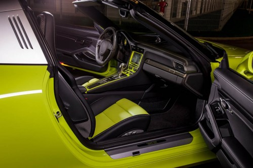 TechArt Porsche 911 Targa 4 Interior