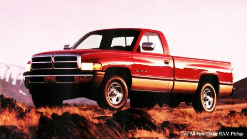 The second generation Dodge Ram