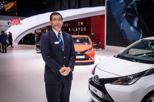 Toyota AYGO Chief Engineer David Terai