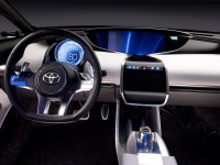 Toyota NS4 Plug-in Hybrid Concept interior