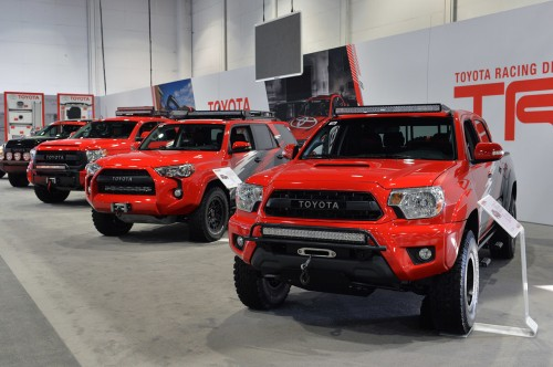 Toyota TRD Pro Chase Truck