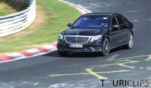 2014 Mercedes-Benz S65 AMG Spotted