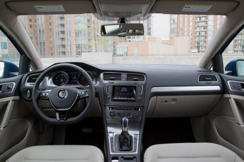 VW e-Golf 2014 Interior
