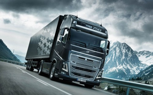 Volvo FH16 On-Road Trailer