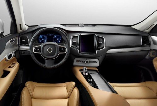Volvo XC90 T8 technology