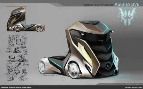 "Week 5 – ""Aggressive"": Winning Concept by Puga Sergey"
