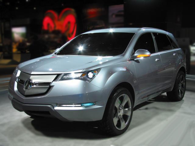 2010 Acura Mdx Concept Car Pictures