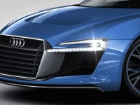 2016 Audi R8 artists rendering front-grill