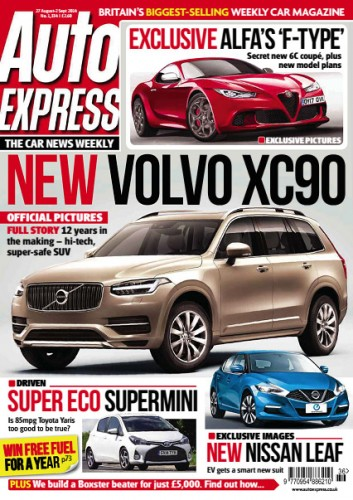 Auto Express - 27 August 2014