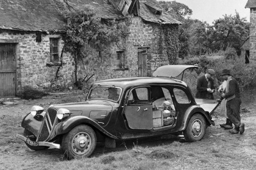 citroen traction avant commerciale