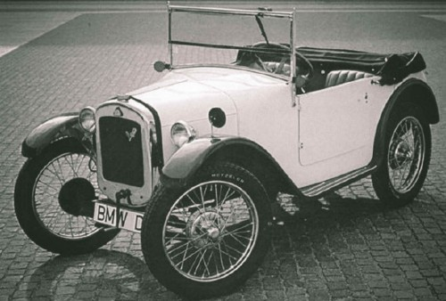 The first car BMW produced only had 15 hp