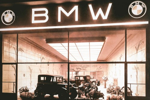 first BMW was actually an English made Austin