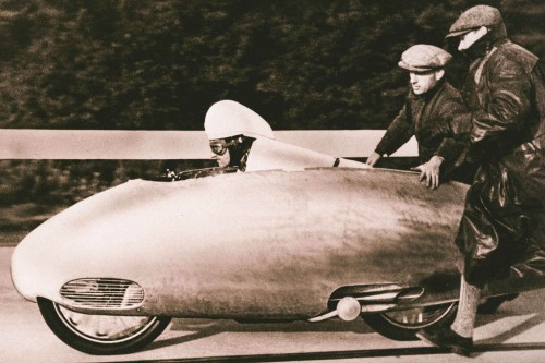 They also built the world's fastest motorcycle... in 1937