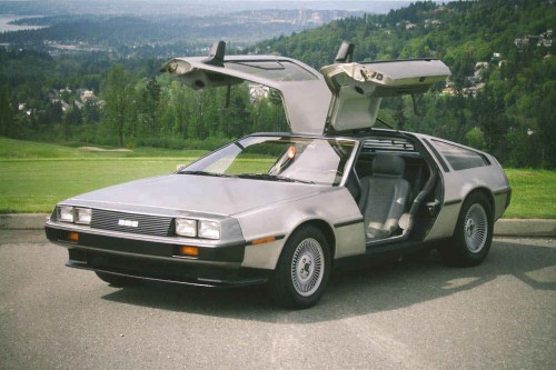 It was also designed by the same guy that designed the DeLorean.