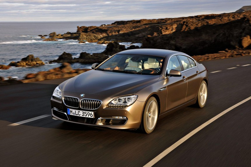 Image result for ‫بی‌­ام‌­و سری 6 GRAN COUPE‬‎