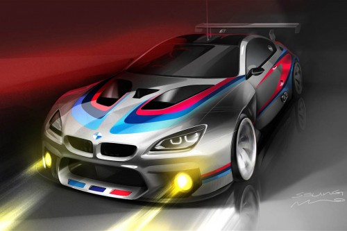 BMW M6 GT3 Racing Car