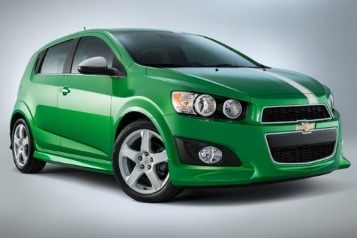 chevrolet sonic performance concept for 2014 sema show