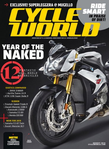 Cycle World - August 2014