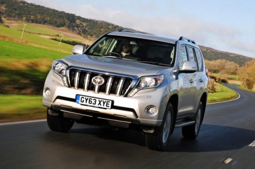 New Toyota Land Cruiser 2014  front
