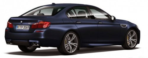 facelifted F10 BMW M5