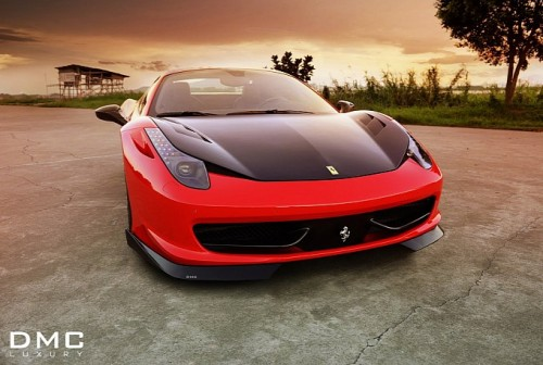 Ferrari 458 Spider by DMC