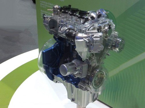 Ford's 1.0 litre turbocharged three-cylinder EcoBoost