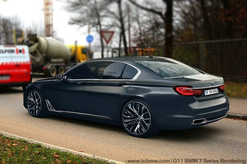 BMW series 7 g11 rendering