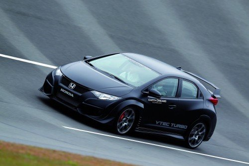 honda  civic type-r with vtec turbo engine