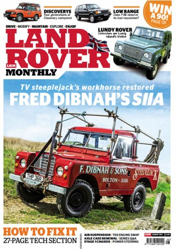 LandRover Monthly - August 2014